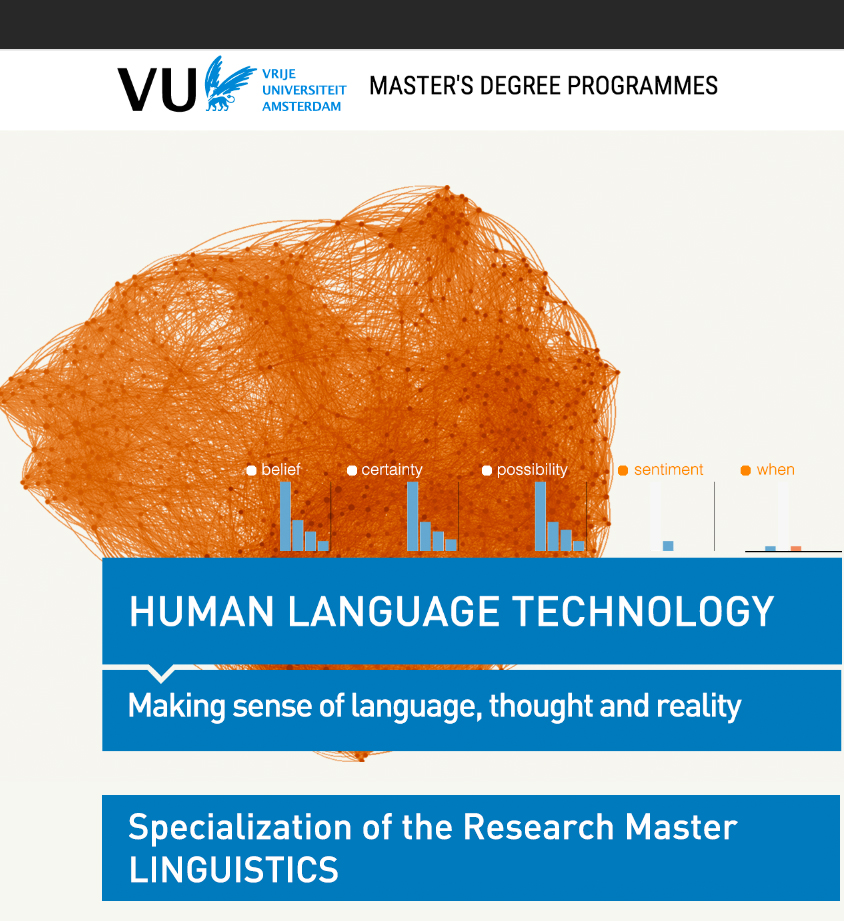 flyer Research Master Human Language Technology