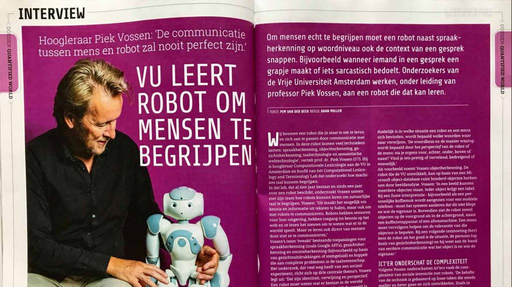 Interview Computable 51 #5 on Communication between Humans and Robots